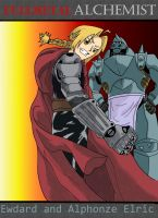 Again Alphonze and  Edward by pinkharte