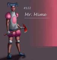Mr. Mime Concept by Wraeclast