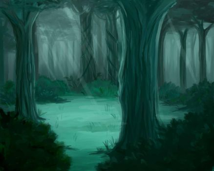 The Forest by HiiragiAzayaka