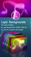 Light backgrounds by Hardgamerpt