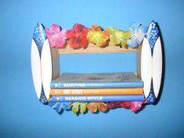 Hawaiin Crate Shelf by AmiotBrat