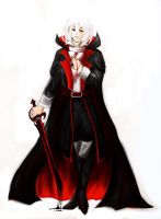 Soma wearing Dracula's Tunic by Lydween