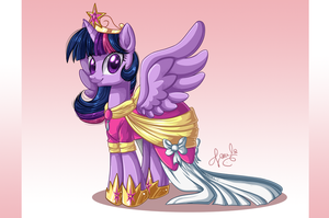 Princess Twilight Sparkle (1) by PauuhAnthoTheCat