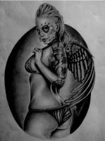 Day of the Dead Angel by dv8james