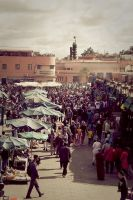 Square Djemaa el Fna (1) by Rob1962