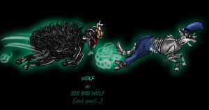 Masked Ball Big Bad Wolf by cri86