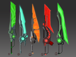 Sci-Fi Weapon Adopts (closed) by Solidified-Light