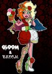 Gloria Sinmons - Gloom and Bloom by AnzennaArtz