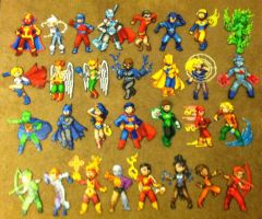 Perler Bead: Justice League! by thewiredslain