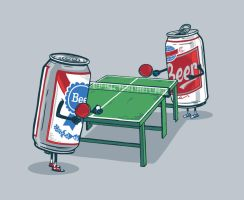 Beer Pong by bennyd302