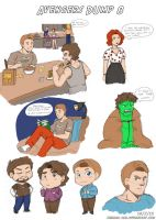 Avengers Dump 8 by LauraDoodles