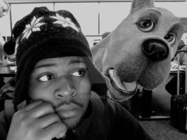 Me and Scooby by RichTate