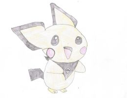 vincent the pichu huggie by Virexius