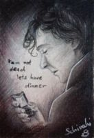 SMS for Sherlock by Schiraki