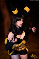 Umbreon Pokemon Cosplay by KICKAcosplay