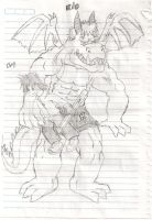 ozzy and kio, modified by Shiron66