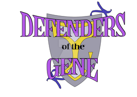 Defenders of the Gene, logo by CoconutMikeNIke
