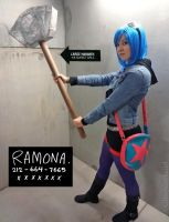 Ramona Flowers Cosplay by glitzygeekgirl
