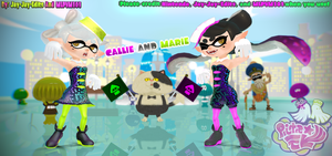 Callie and Marie by MLPVM and JayJayEdits by Jay-Jay-Edits
