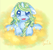 Pony OC--Seaweed by TzuLin520