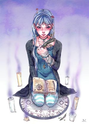 Indigo Witch by Serenyan