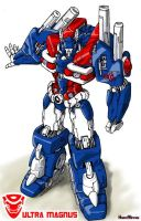 LittleIron's Ultra Magnus by hansime