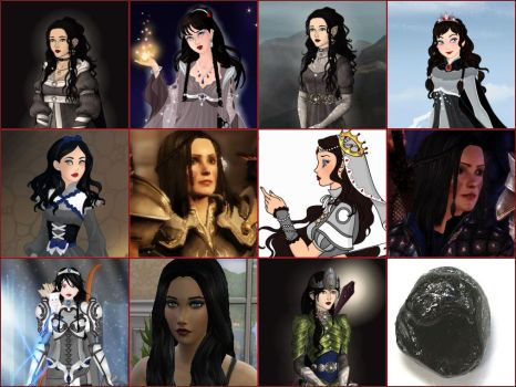 The Faces of the Silmaril by Mimi-Sardinia