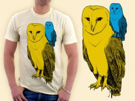 owl on your shoulder by tremorizer