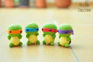 Ninja turtles by MissBajoCollection