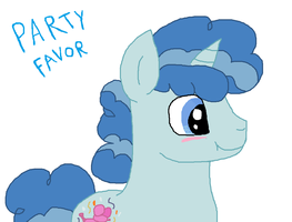 Mlp Fim:Party Favor by cottoncloudyfilly