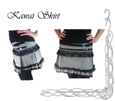 Kawai Skirt by Aphilien