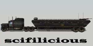 High Tech Military Peterbilt-kenworth 2 by scifilicious