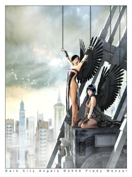 Dark City Angels by Fredy3D