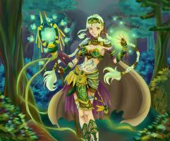Nature Sorceress by yohat