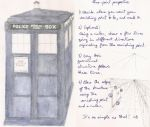 TARDIS and how to draw one point perspective by felicitysite