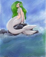 dolphin mermaid by ThePsychoSloth