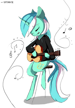 |MLP Fanart|I'm only pony after all... Bonbon by RatAnn