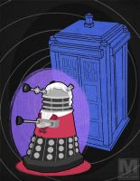 The Third Doctor Dalek by MeghanMurphy