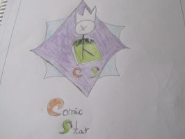 Comic Star - Symbol of my comics by Wilfre-colour