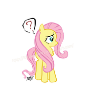 Fluttershy Perplexed by itsdanielle91