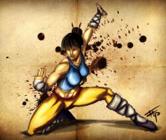 Kung-Fu: Shaolin Girl by Bathiel