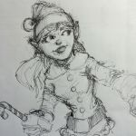 Ballpoint Elf by Pencilbags
