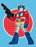 optimus prime by AlanSchell