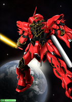 Sinanju Colored by 73H-FR33M4N