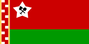 My Minecraft Flag by Party9999999