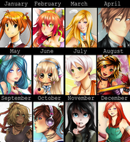 2011 summary of art :3 by Nataliadsw