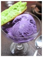 Ube Ice Cream by Mechanicaliber