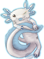 Axolotl by TheCalicoTabby