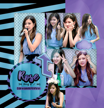Pack Png 249 | BLACKPINK | Rose | #4 by IDreamWithFire