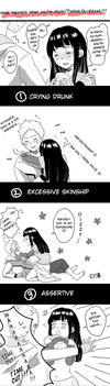 What Happens When You're Drunk!? Hinata Sama!!! by bluedragonfan